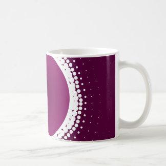 Trauben-lila Eklipse Kaffeetasse