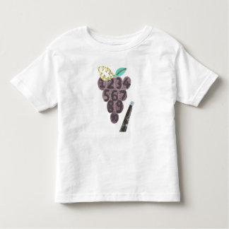 Trauben-Pool kein Hintergrund-Kleinkind-T - Shirt