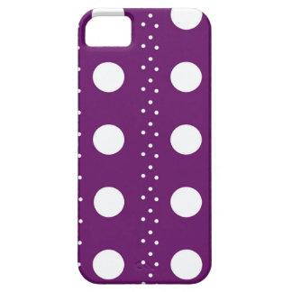 Trauben-Punkt-Streifen iPhone 5 Schutzhülle