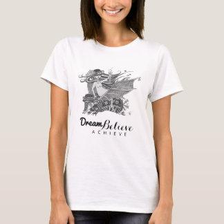 Traum des Gürteltier-Schläger-Mädchen-| glauben T-Shirt