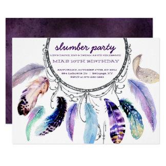 Traum-Fänger Schlummer-Party Einladung