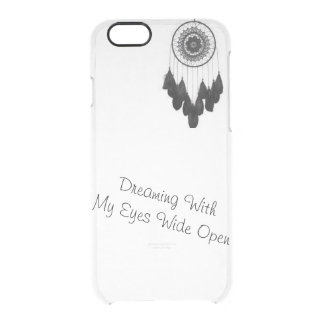 Traum - Fängertelefonkasten, erhalten dieses! Durchsichtige iPhone 6/6S Hülle