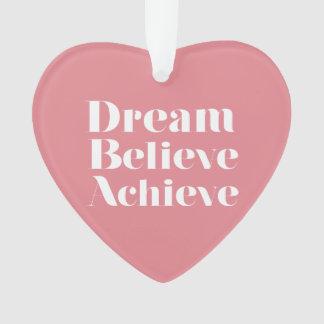 Traum glauben erzielen
