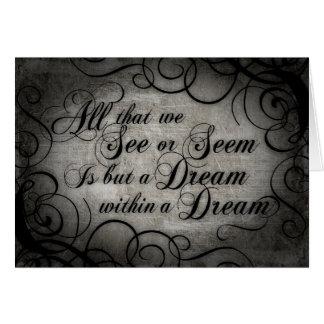 Traum innerhalb eines Traums Karte