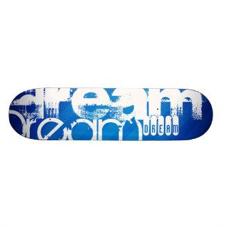 Traum; Königsblau-Streifen Individuelles Skateboard
