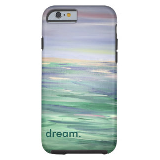 Traum über offenem Wasser, harter Telefon-Kasten Tough iPhone 6 Hülle