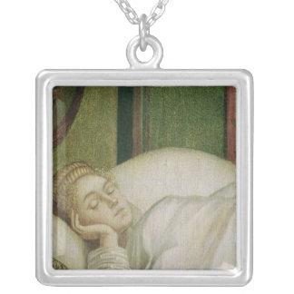 Traum von St Ursula, 1495 Halskette Mit Quadratischem Anhänger