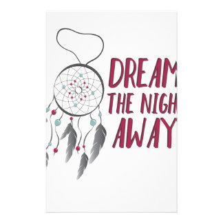 Traum weg briefpapier