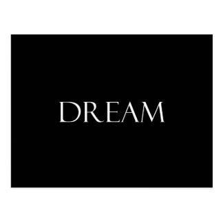 Traum zitiert inspirierend Zitat Postkarte