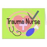 """""""Trauma-Krankenschwester-"""" Geschenke Karten"""