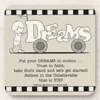 Träume in der Bewegung Untersetzer