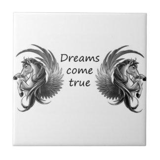Träume kommen fliese