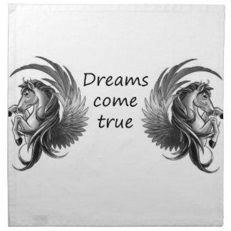 Träume kommen serviette