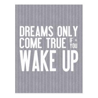 Träume kommen wahr postkarten