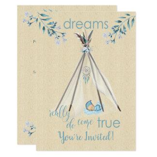 Träume wirklich kommen wahrer Boho DreamCatcher Karte