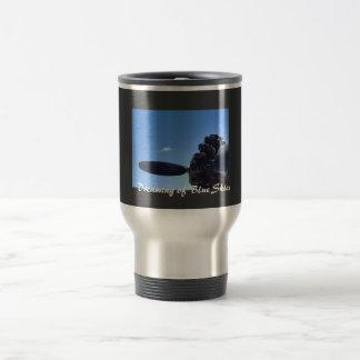 Träumen der blaue Himmel-Tasse Edelstahl Thermotasse