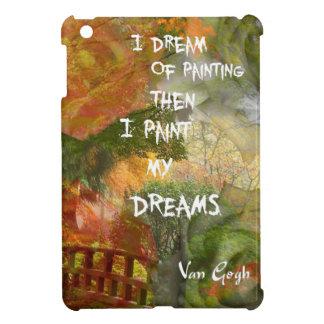 Träumen der grauen und orange Rosen iPad Mini Hülle