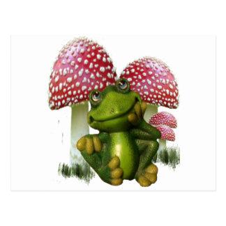 Träumen des Frosches Postkarte