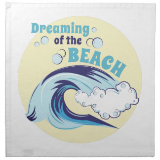 Träumen des Strandes Serviette