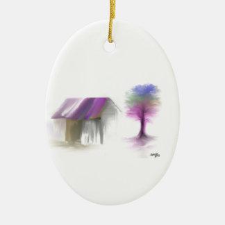 Träumen in der Farbe Weinachtsornamente