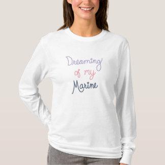Träumen meines Marinesoldaten T-Shirt