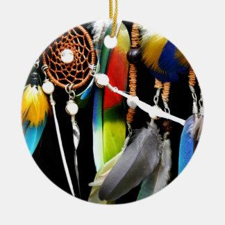 Träumen Sie einen kleinen Traum von mir Rundes Keramik Ornament