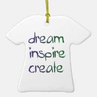 Träumen Sie, inspirieren Sie, stellen Sie Dekorati Ornamente