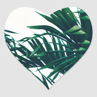 Träumen von Costa Rica Herz-Aufkleber
