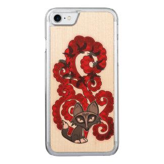 Träumender Fox Carved iPhone 8/7 Hülle