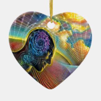 Träumer Keramik Herz-Ornament
