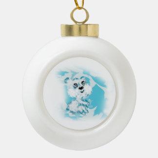 Träumer Keramik Kugel-Ornament