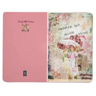 Träumerische kleine Zeitschrift Taschennotizbuch