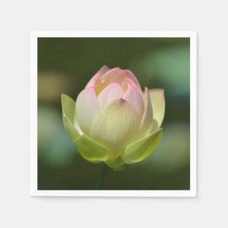 Träumerische Lotus-Blüte Serviette