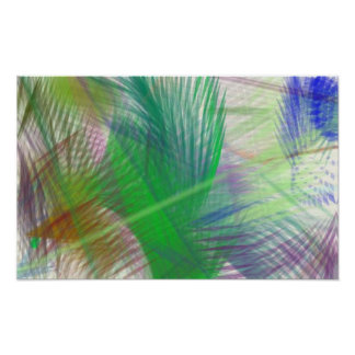 Träumerischer Dschungel Plakat