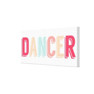 Träumerischer Tänzer-Leinwand-Druck Leinwanddruck