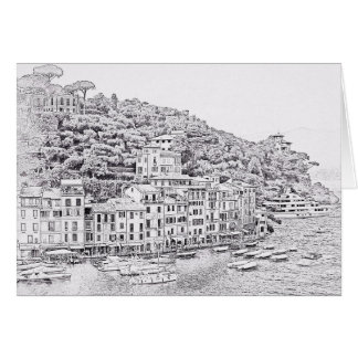 Träumerisches romantisches Portofino, Karte