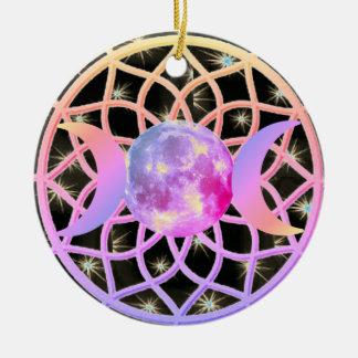 Traumfänger-Dreiergruppen-Göttin Keramik Ornament