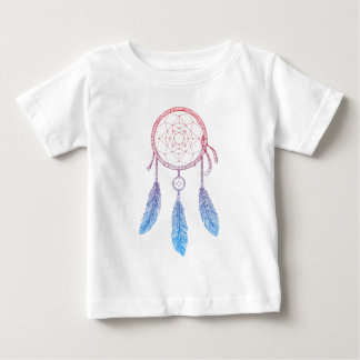 Traumfänger-Farbe Baby T-shirt