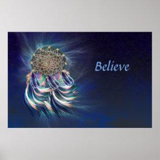 Traumfänger… glauben poster