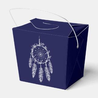 Traumfänger-Marine-Blau-Ureinwohner-Hochzeit Geschenkschachtel