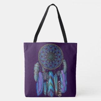 Traumfänger mit einem Magievogel-Türkis versieht Tasche