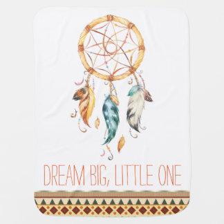 Traumfänger Stammes- Boho Baby-Decke