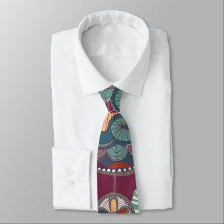 Traumfänger-Ureinwohner-Thema Krawatte