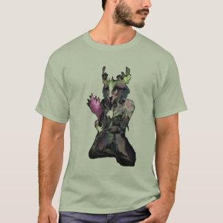 Traumgeschöpf im rohen Hintergrund T-Shirt