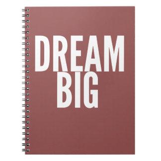Traumgroßes - kundengerechter Notizblock Notiz Buch