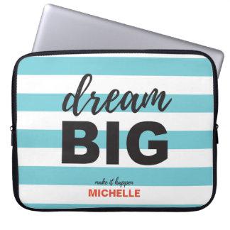 Traumgroßes, Skripttext, personalisierte, Laptopschutzhülle