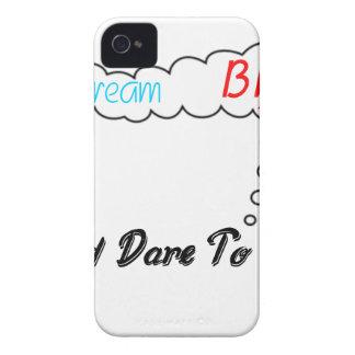 Traumgroßes und Herausforderung zum zu versagen Case-Mate iPhone 4 Hüllen