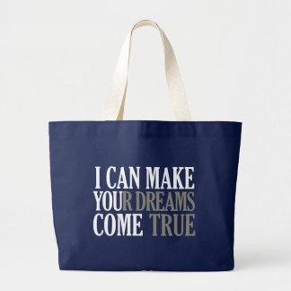 Traumherstellertasche - wählen Sie Art u. Farbe Jumbo Stoffbeutel