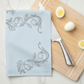 Traumküchen-Entwurfs-Reihe. Wählen Sie Farbe! Geschirrtuch