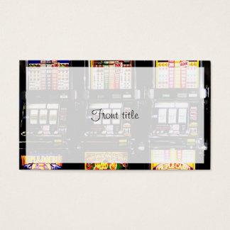 Traummaschinen - glückliche Spielautomaten Visitenkarte